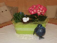 velikonoční výzdoba - obývák