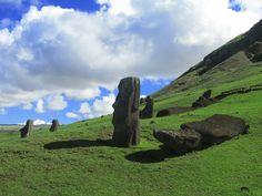 Stichting Muses, Paaseiland, Rano Raraku, Chili