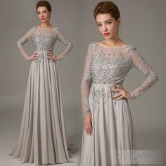 Mother Of The Bride Lace Dresses New Mother Of The Bride Groom Dresses Grey With Long Sleeves Crystals 2015 Formal Chiffon Sexy Plus Size Lace Dress Evening Gowns Pant Suit Mother Of The Bride Dresses Tea Length Plus Size From Myweddingdress, $115.92| Dhgate.Com