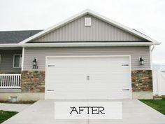 8 Best Garage Door Hardware Placement Images Garage Door