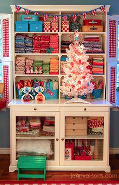 Filing Fabric  http://www.thinkingcloset.com/2013/06/06/filing-fabric-a-fabric-organization-round-up/