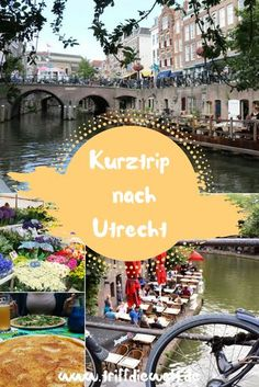 One of my favorite Holland cities: Utrecht. Utrecht is relaxed and versatile. Here you will find pra Europe Destinations, Travel Destinations Beach, Beach Travel, Utrecht, Holland Cities, Visit Holland, Backpacking Europe, Medan, Belfast
