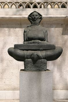 History Of The Croats Sculpture In Front Of University Rector S Building In Zagreb Stock Photo - Image of woman, ivan: 551954 Ivan Mestrovic, Collective Identity, Zagreb Croatia, Z Arts, Female Images, Wood Carving, Sculptures, University, Stock Photos