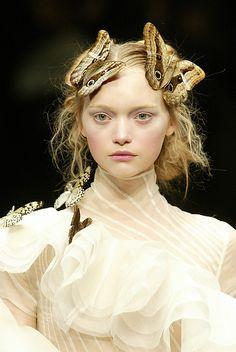 Gemma Ward-Alexander McQueen-2006FW