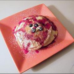 "Best Buttermilk Pancakes EVER on BigOven: Best Buttermilk Pancakes. Saw these on ""Good Eats"" with Alton Brown. He's the man. Kitchen Chemistry, Alton Brown, Buttermilk Pancakes, Stick Of Butter, Blueberry, Breakfast Recipes, Brunch, Vegetarian, Baking"
