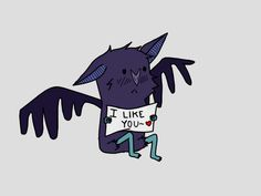do i seriously  look that adorable when im a bat. Glob, i hope not.