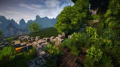 Project | Stadtfelsen, a medieval castle [Timelapse] Minecraft Project