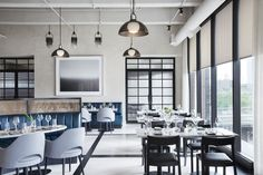 Fitler Club, a private lifestyle club in Philadelphia designed by M-Rad, combines work, wellness and social into a single space.