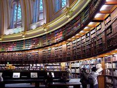 British Library, London, England