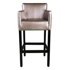 Ein modernes Meisterwerk mit einfachem Design ermöglicht es Ihnen, dezent Akzente in jedem Teil des Cafes zu setzen. Mit vier festen Beinen und Fußstützen ist der Komfort noch größer.