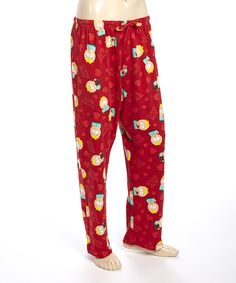 Look at this Red South Park Butters Lounge Pants - Men on #zulily today!