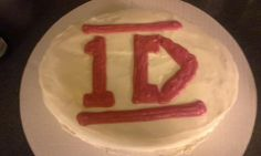 One Direction cake for my daughter
