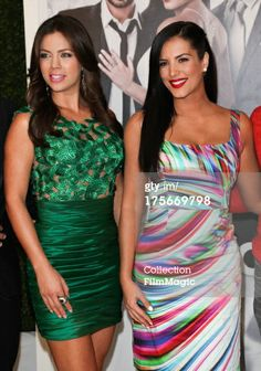 News Photo: Actors Ximena Duque and Gaby Espino attend the…