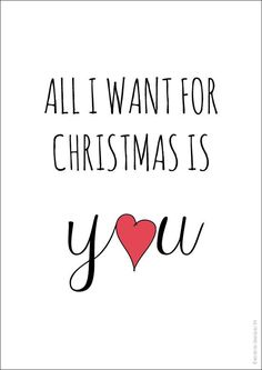 Geschenk Weihnachten, All I want for Christmas is you Poster Merry Christmas My Love, Noel Christmas, Christmas Is Coming, Christmas Signs, Christmas Wishes, Merry Xmas, Christmas And New Year, Winter Christmas, All Things Christmas