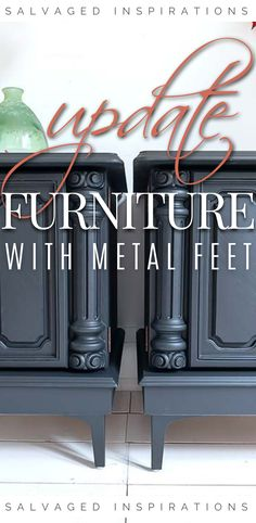 Fall Style Buffet Makeover | Lovely Buffet Table Tutorial | Salvaged Inspirations #siblog #salvagedinspirations #paintedfurniture #furniturepainting #DIYfurniture #furniturepaintingtutorials #howto #furnitureartist #furnitureflip #salvagedfurniture #furnituremakeover #beforeandafterfurnuture #paintedvintagefurniture #roadsiderescues Salvaged Furniture, Diy Furniture Redo, Furniture Repair, Furniture Refinishing, Furniture Legs, Furniture Projects, Vintage Furniture, Dixie Belle Paint, Decorating