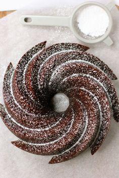 Cocoa Bundt Cake #recipe