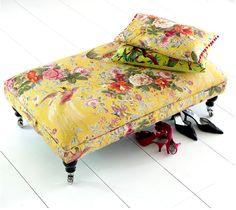 .Vintage rose fabric