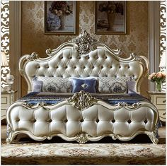 European adult bedroom furniture suits solid wood furniture can be customized … - bedroom furniture ideas Luxury Bedroom Furniture, Bed Furniture, Living Room Furniture, Furniture Design, Quality Furniture, Furniture Stores, Cheap Furniture, Furniture Buyers, Inexpensive Furniture