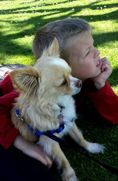 Little thinkers                                              #pets #animals #kidswithpets