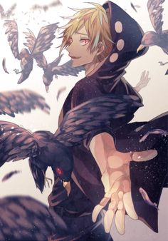 They are ravens but they have soul like other birds too.,.....