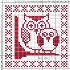 Kuvahaun tulos haulle uggla knitting chart