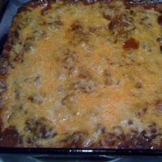 Tex-Mex Beef and Cheese Enchiladas   These remind me of my high school days in San Antonio.