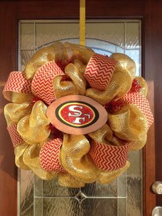 1000+ ideas about 49ers Wreath on Pinterest | Dallas Cowboys ...
