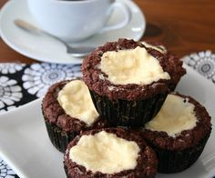 Black and White Muffins (Low Carb and Gluten-Free)   All Day I Dream About Food