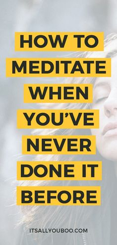 Want to start meditating, but never done it before? Anyone can meditate! Click here for how to meditate for beginners, a step by step guide to help you find peace in the mornings or before bed. Plus, learn three distinct techniques of meditation, including breathing meditation, visualization, and mindfulness meditation. And easy to follow guided meditations. #Meditation #MeditationForBeginners #HowToMeditate #ItsAllYouBoo #MeditationBenefits #BenefitsOfMeditation #HowToBeMindful #Namaste Breathing Meditation, Meditation Space, Mindfulness Meditation, Guided Meditation, Meditation Before Bed, Buddhist Meditation, Healing Meditation, Chakra Healing, Buddhism