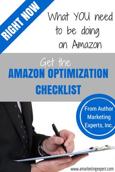 Our easy-to-use infographic checklist tells you exactly what you need to be doing on Amazon RIGHT NOW as an author to maximize visibility, searchability and sales!