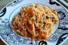 Paad Thai Noodles, kosher and vegetarian version!  (Meat and vegan options)