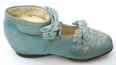 Child's shoe, circa 1880
