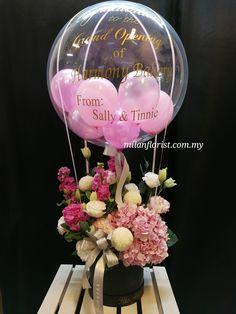 Pictures Of Birthday Balloons and Flowers Elegant Jason Balloons Decor Paper Flower Balloon Arrangements, Balloon Centerpieces, Centerpiece Decorations, Decoration Table, Balloon Decorations, Floral Arrangements, Balloon Flowers, Balloon Bouquet, Paper Flowers