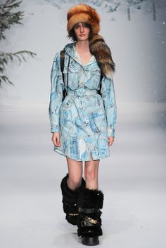 Moschino Fall 2015 Menswear Fashion Show