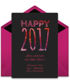 Browse our collection of free New Years Eve party invitation templates. We love this free digital invite, perfect for ringing in the new year with friends and family.