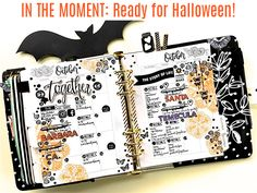 Are you ready for Halloween yet? We are getting stocked up on candy and on fall accessories for our My Prima Planners! Design by Dedra!