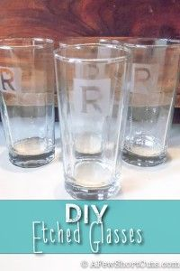 76 Crafts To Make and Sell - Easy DIY Ideas for Cheap Things To Sell on Etsy, Online and for Craft Fairs. Make Money with These Homemade Crafts for Teens, Kids, Christmas, Summer, Mother's Day Gifts. |  DIY Etched Glass  |  diyjoy.com/crafts-to-make-and-sell