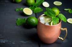 Molly Sims' Skinny Moscow Mule: A no-guilt cocktail recipe from supermodel Molly Sims that's perfect for any party.