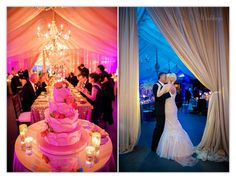 Wedding Reception Lighting, Castle Hill Inn, ©Snap Weddings