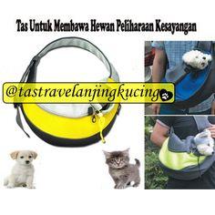 Tas berbentuk Shoulder Bag untuk membawa peliharaan kesayangan anda, bisa untuk kucing atau anjing, dengan model yang fashionable, aman, kuat, dan awet.  Bahan: kulit sintetis Jenis: Shoulder Bag Ukuran: small (38 * 10 * 20 cm Max 3 kg) dan medium (45 * 13 * 28 cm Max 6 kg)  >> READY STOCK SIAP KIRIM <<