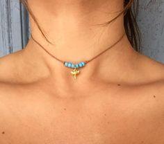 Candice Choker... diente de tiburón de oro por designsbyilla