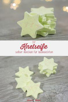 Knetseifensterne selber machen als Weihnachtsgeschenk - Schnin's Kitchen - บล็อกของฉันของขวัญ Diy Last Minute Gifts, Christmas Presents, Pin Collection, Diy Gifts, Diy And Crafts, Kindergarten, Place Card Holders, How To Make, Lego Duplo