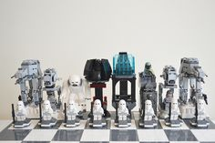 Lego Star wars Giant chess Episode 5 Hoth THeme. | Flickr - Photo Sharing!