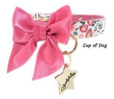 Collier chien Funkylicious Spring Fresa https://www.cupofdog.fr/collier-harnais-chihuahua-petit-chien-xsl-243.html