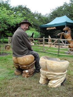 chainsaw sculpturs | ... carving dennis has been active in competitive chainsaw carving