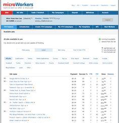 freelance websites microworkers