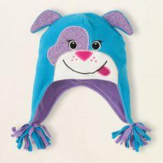 fleece dog hat