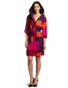 Max and Cleo Women's Printed Nikki Dress