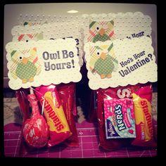 cricut valentines goodie bags - Valentines Goodie Bags