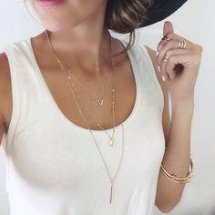 Accesorios #moda #brazaletes #collares